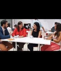 Alejandro Pérez, Bárbara Dans,  Ruth Guirola y Marta Bermúdez,