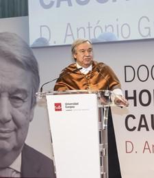 António Guterres se incorpora como Doctor Honoris Causa a nuestra Universidad