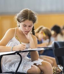 Estudiantes de primaria y bachillerato