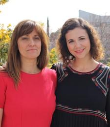 Ana Elena Martínez y Laura Amigot