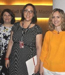 Lola Vivas, Auxi Ruiz y Sara Redondo
